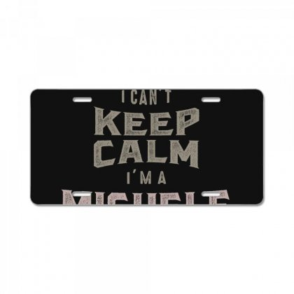 Is Your Name, Michele? This Shirt Is For You! License Plate Designed By
