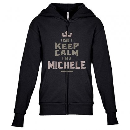 Is Your Name, Michele? This Shirt Is For You! Youth Zipper Hoodie Designed By