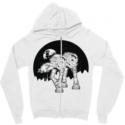 Iconic Wars Zipper Hoodie Designed By