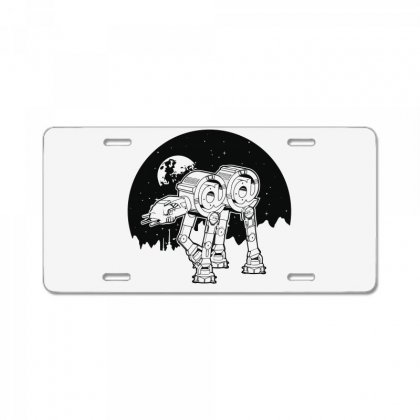 Iconic Wars License Plate Designed By