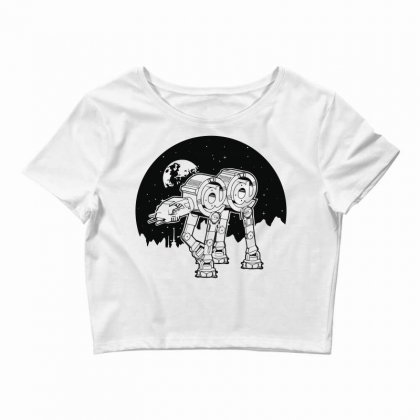 Iconic Wars Crop Top Designed By