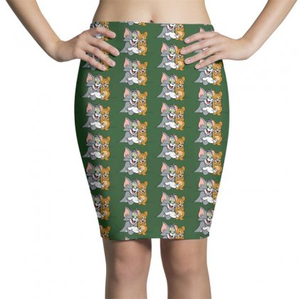 Tom & Jerry Pencil Skirts Designed By