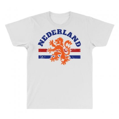 Dutch Lion All Over Men's T-shirt Designed By