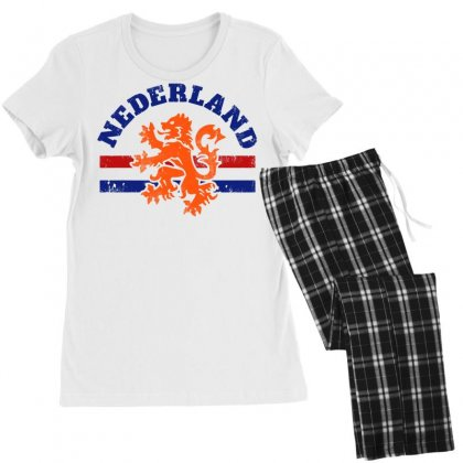 Dutch Lion Women's Pajamas Set Designed By