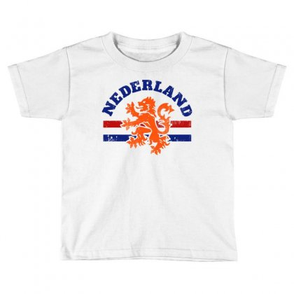 Dutch Lion Toddler T-shirt Designed By