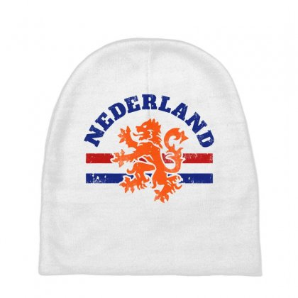 Dutch Lion Baby Beanies Designed By