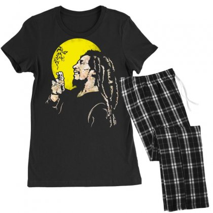 Famous Jamaican Legend Women's Pajamas Set Designed By