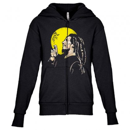 Famous Jamaican Legend Youth Zipper Hoodie Designed By