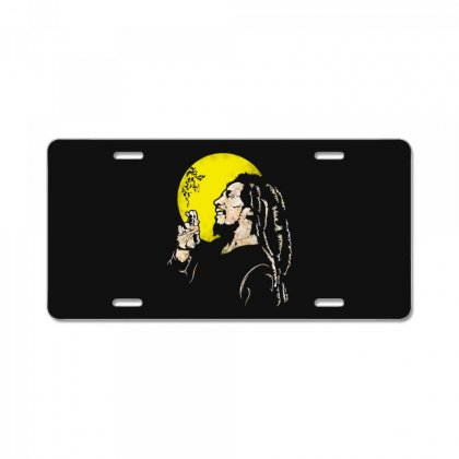 Famous Jamaican Legend License Plate Designed By
