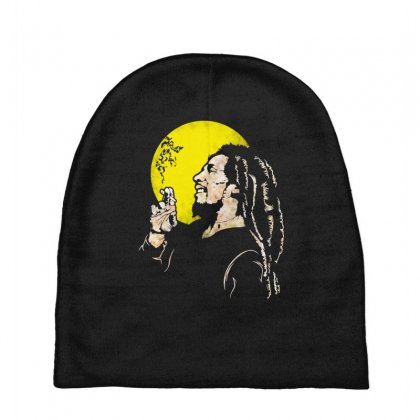Famous Jamaican Legend Baby Beanies Designed By