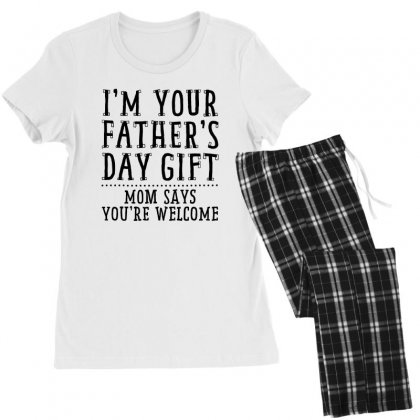 I'm Your Father's Day Gift Women's Pajamas Set Designed By