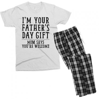 I'm Your Father's Day Gift Men's T-shirt Pajama Set Designed By