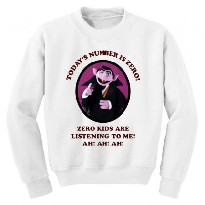 Number Is Zero Youth Sweatshirt Designed By