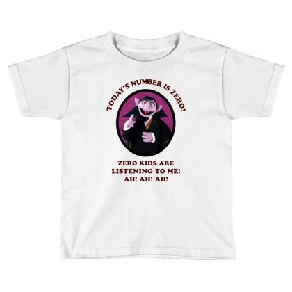 Number Is Zero Toddler T-shirt Designed By