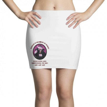 Number Is Zero Mini Skirts Designed By