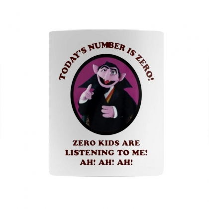 Number Is Zero Mug Designed By