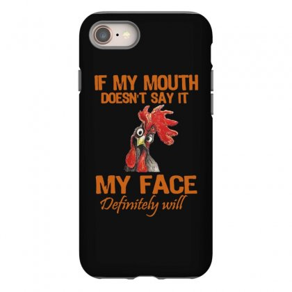 My Mouth My Face Iphone 8 Case Designed By