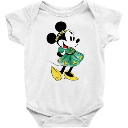 Minny Mouse Baby Bodysuit Designed By