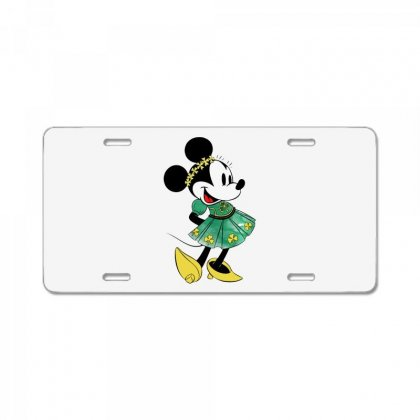Minny Mouse License Plate Designed By