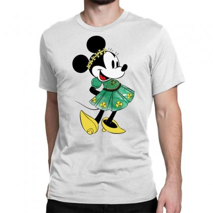 Minny Mouse Classic T-shirt Designed By