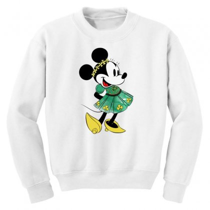 Minny Mouse Youth Sweatshirt Designed By
