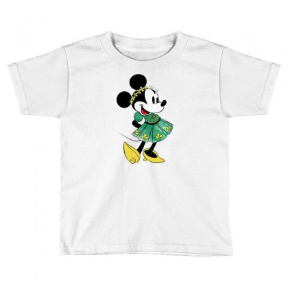 Minny Mouse Toddler T-shirt Designed By