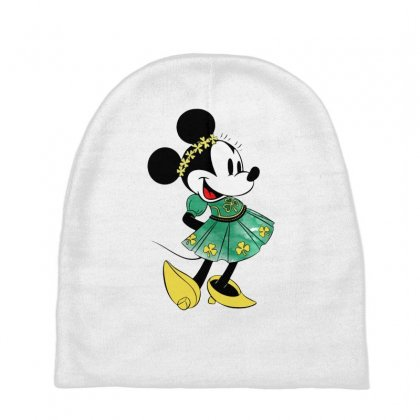 Minny Mouse Baby Beanies Designed By