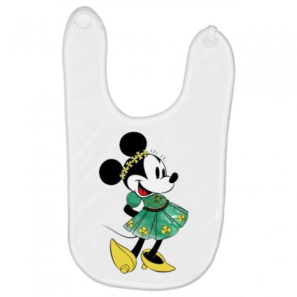 Minny Mouse Baby Bibs Designed By