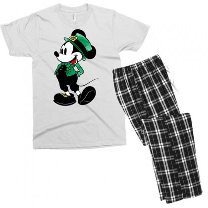 Mickey Mouse Men's T-shirt Pajama Set Designed By