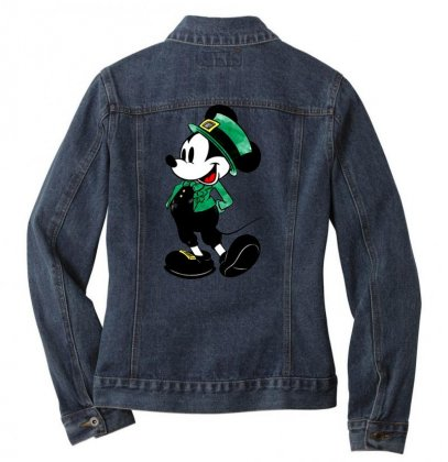 Mickey Mouse Ladies Denim Jacket Designed By