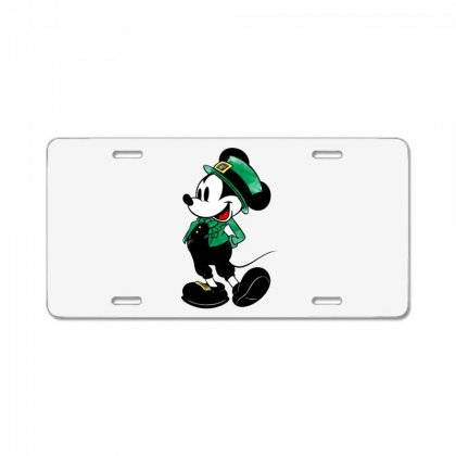 Mickey Mouse License Plate Designed By