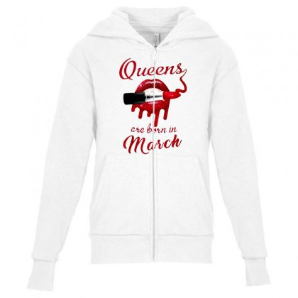 March Youth Zipper Hoodie Designed By