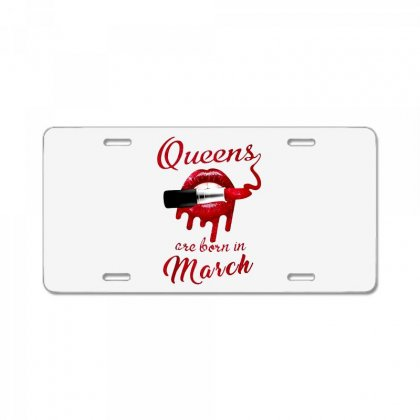March License Plate Designed By