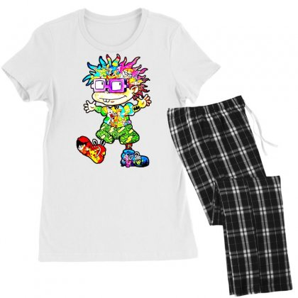 Lovely Cartoon Women's Pajamas Set Designed By