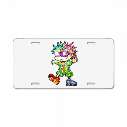 Lovely Cartoon License Plate Designed By