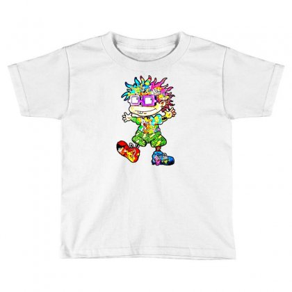 Lovely Cartoon Toddler T-shirt Designed By