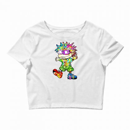 Lovely Cartoon Crop Top Designed By