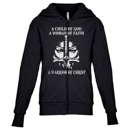 Love God Youth Zipper Hoodie Designed By