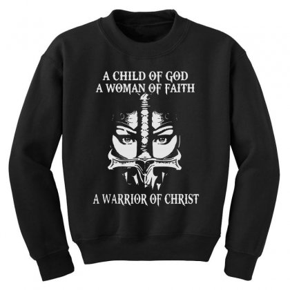 Love God Youth Sweatshirt Designed By