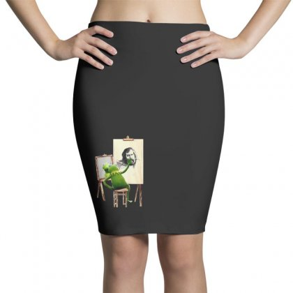 Love Art Pencil Skirts Designed By