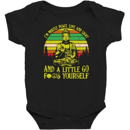 Love And Light Baby Bodysuit Designed By