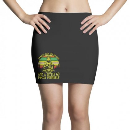 Love And Light Mini Skirts Designed By