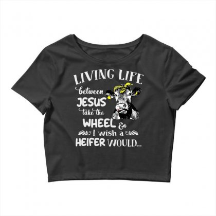 Living Life Crop Top Designed By