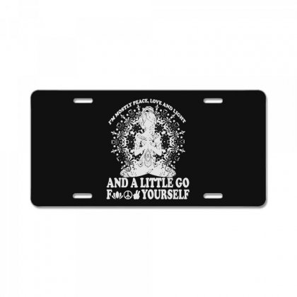Light Of Love License Plate Designed By