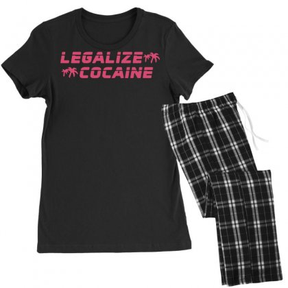 Legalize Cocaine Women's Pajamas Set Designed By