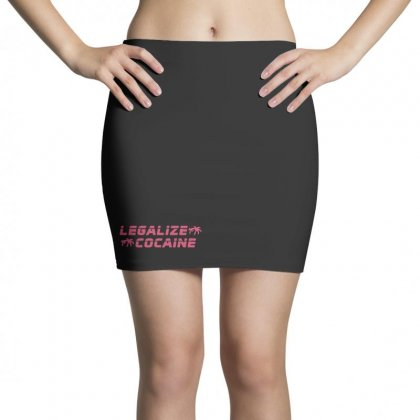 Legalize Cocaine Mini Skirts Designed By
