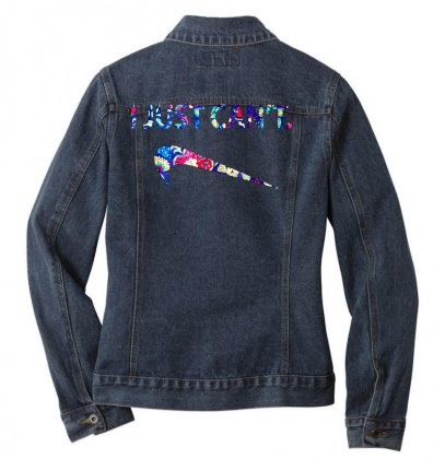 Just Can't Ladies Denim Jacket Designed By