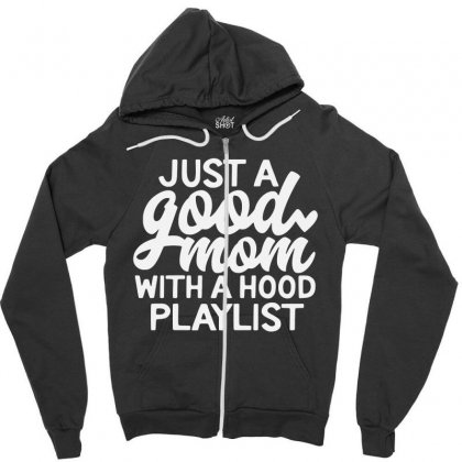 Just A Good Zipper Hoodie Designed By