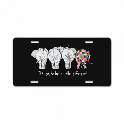 It's Ok License Plate Designed By