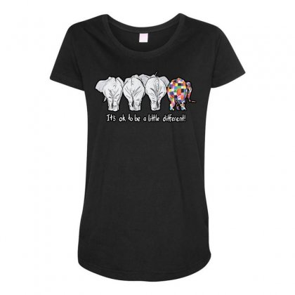It's Ok Maternity Scoop Neck T-shirt Designed By